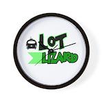Lot Lizard Tshirts and Gifts Wall Clock