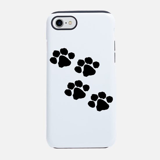 Animal Paw Prints iPhone 8/7 Tough Case
