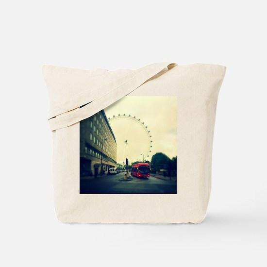 Unique London eye Tote Bag