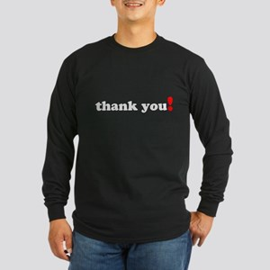 Thank You Long Sleeve T-Shirt