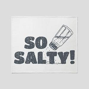 So Salty Throw Blanket