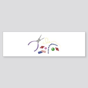 Jewelry Making Bumper Sticker