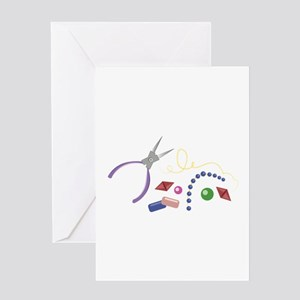 Jewelry Making Greeting Cards