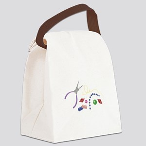 Jewelry Making Canvas Lunch Bag