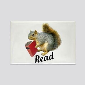 Squirrel Book Read Magnets