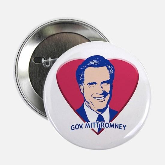I Love My Gov. Mitt Romney Gear. Button