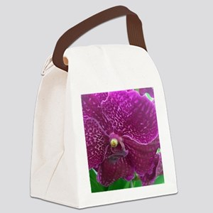 Fuchsia Orchard Canvas Lunch Bag