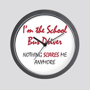 School Bus Driver Wall Clock