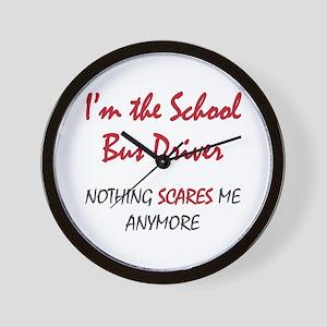 School Bus Driver Wall Clock