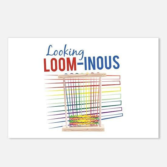 Looking Loom-inous Postcards (Package of 8)