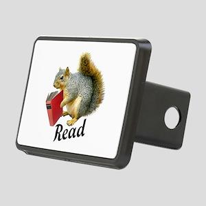 Squirrel Book Read Hitch Cover