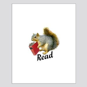 Squirrel Book Read Posters