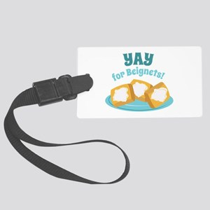 For Beignets! Luggage Tag