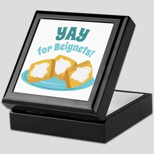 For Beignets! Keepsake Box