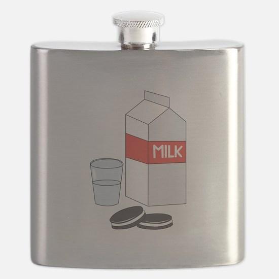 Milk & Cookies Flask