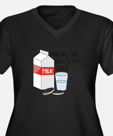 Milk To My Cookie Plus Size T-Shirt