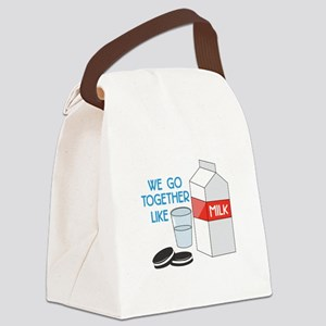 We Go Together Canvas Lunch Bag
