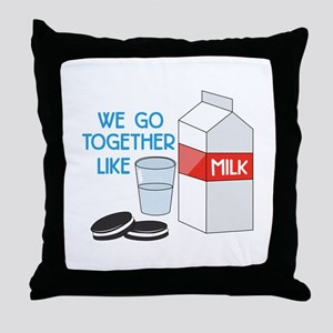 We Go Together Throw Pillow