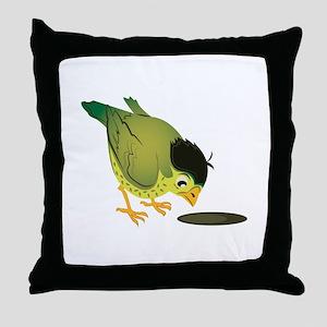 Llittle Bird Throw Pillow