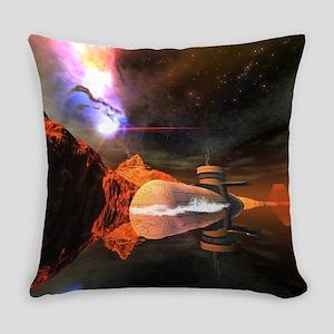 Submarine Everyday Pillow