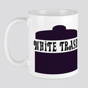 White Trash Can Mug
