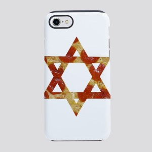 pizza star of david iPhone 8/7 Tough Case