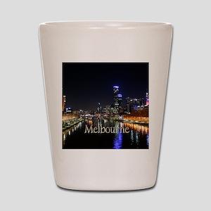 Melbourne, Victoria Australia City Ligh Shot Glass