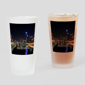 Melbourne, Victoria Australia City Drinking Glass