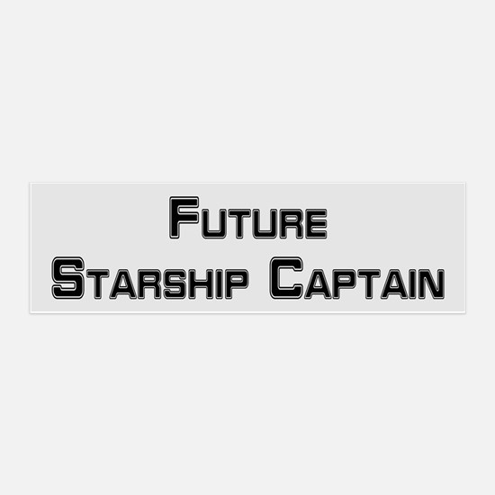 FUTURE STARSHIP CAPTAIN Wall Decal