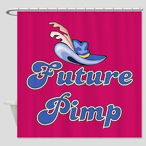 FUTURE PIMP Shower Curtain