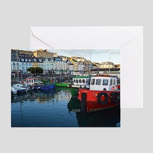 Cork Ireland - Port Greeting Card