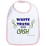 White Trash With Cash Bib