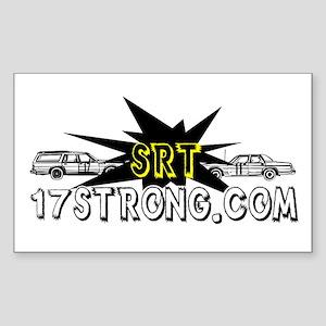 Schutte Racing Team Rectangle Sticker