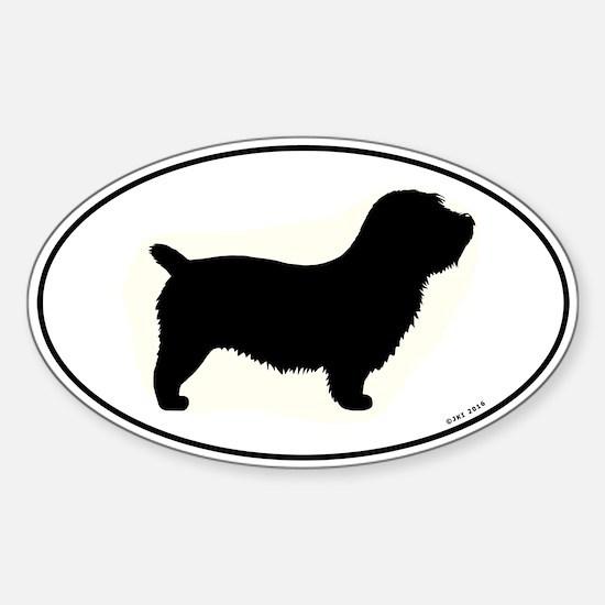 Glen of Imaal Terrier Oval Decal