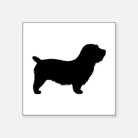"Glen of Imaal Terrier Square Sticker 3"" x 3"""