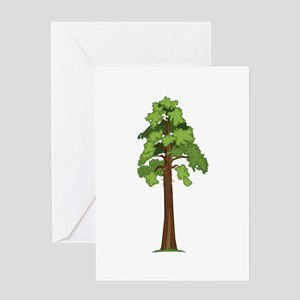 Tall Tree Greeting Cards