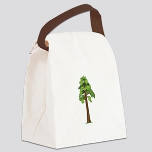 Tall Tree Canvas Lunch Bag