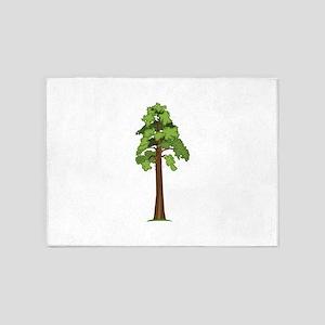 Tall Tree 5'x7'Area Rug