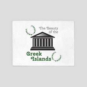 Greek Islands 5'x7'Area Rug