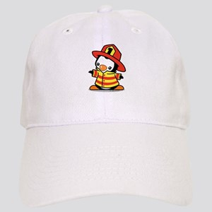 Firefighter Penguin Baseball Cap