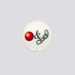 The Old Ball and Chain Mini Button