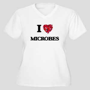 I Love Microbes Plus Size T-Shirt