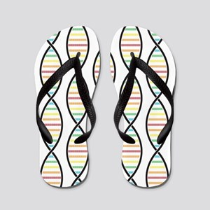 Strands of DNA Flip Flops