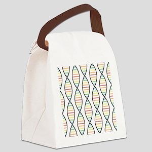 Strands of DNA Canvas Lunch Bag