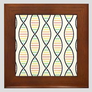 Strands of DNA Framed Tile