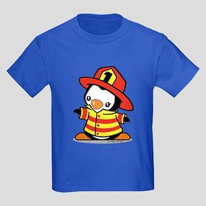 Firefighter Penguin T-Shirt