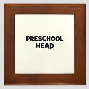 Preschool Head Framed Tile