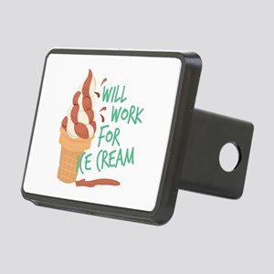 Work For Ice Cream Hitch Cover