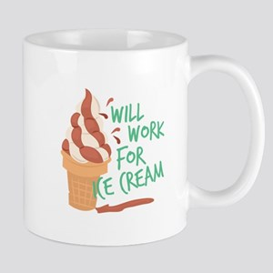 Work For Ice Cream Mugs