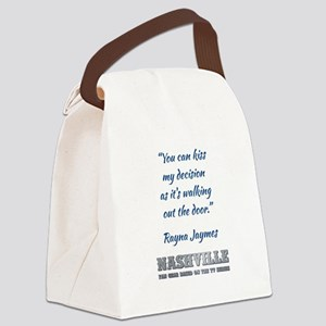 RAYNA QUOTE Canvas Lunch Bag